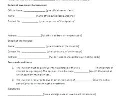 Investment Agreement Template Lovely Investment Agreement Template