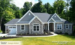 one story home plans design 42159 the sinclair ii