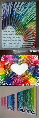 How To Make A Melted Crayon Wall Decor http://theownerbuildernetwork.co/