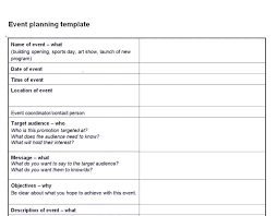 Party Planning Template Free Checklist An Example Template For Event Planner Planning Checklist