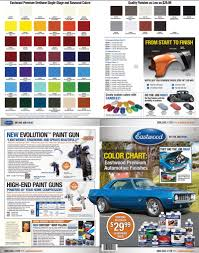 Car Paint Colors Chart Purchase Eastwood Automotive Paint Color Chip Chart