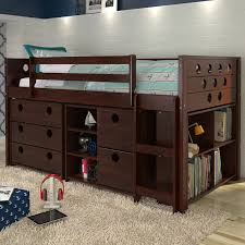 loft bed with storage. circles twin loft bed with storage