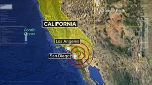 Earthquakes In California Now
