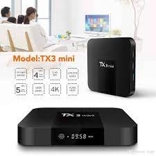 Android TV Box Tx3 mini Ram 2GB - Chip S905W - Android 9.0