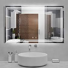 Try the suggestions below or type a new query above. Buy Iowvoe 48 X 30 Inch Led Mirror Bathroom Wall Mounted Vanity Mirror Anti Fog Adjustable Color Temperature Makeup Mirror Online In Kazakhstan B091bzt839