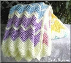 Crochet Ripple Afghan Pattern Fascinating Afghans Craft Ingénue