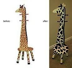Giraffe Coat Rack wood giraffe coat rack pattern Home Projects Project Plans 4