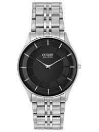 mens slim watches creative watch co citizen men s slim line stiletto solar powered dress watch