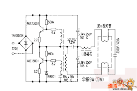 electronic ballast wiring diagram wirdig electronic ballast circuit diagram on electronic choke circuit diagram