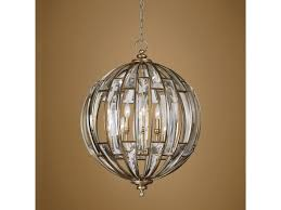 sphere lighting fixture. Uttermost Lighting FixturesUttermost Vicentina 6 Light Sphere Pendant Fixture