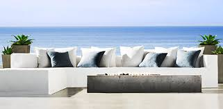 high end patio furniture. Furniture: Espanto Collection From RH Modern High End Patio Furniture