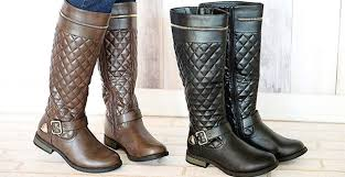 Gorgeous Riding Boots with Quilted Detailing! | Jane &  Adamdwight.com