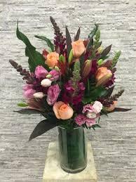 Warm Hearts Vase Arrangement