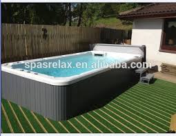 Best Hot Plastic Square Above Ground Pool With Tv Powerful Air Jets