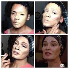 guy uses makeup celebrities boing boing makeup transformation elsa mars like a