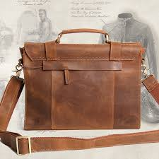 vintage leather briefcase satchel womens lawyers briefcase