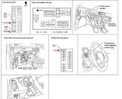 similiar nissan frontier fuse box diagram keywords nissan frontier tail light fuse also nissan altima fuse box diagram