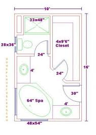 master bathroom floor plans with walk in closet.  Closet Bathroom And Closet Floor Plans   PlansFree 10x16 Master Bathroom Floor  Plan With Walkin Closet Throughout Plans With Walk In Pinterest