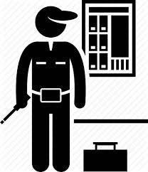 electrician fixing fuse box handyman repairman serviceman electrician fixing fuse box handyman repairman serviceman technician icon
