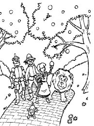 Small Picture Wizard Of Oz Coloring Pages Website Picture Gallery Wizard Of Oz