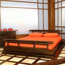 japanese platform bed asian bedroom furniture