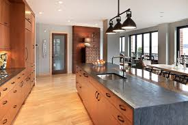 view in gallery upscale urban dwelling by kitchen cography