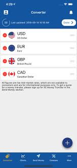 Xe Currency Converter Chart Xe Currency Converter Pro