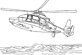 Small Picture Helicopter coloring pages flying over desert ColoringStar