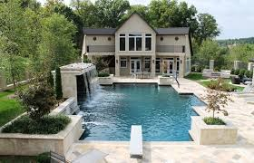 luxury backyard pool designs. Home Elements And Style Medium Size About Pool Vinyls Backyards Inground Waterfalls Pictures Luxury Backyard Designs