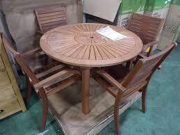 4 x homebase almeria stacking chairs