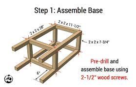 simple diy stool plans step 1