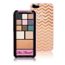 too faced jingle all the way pop out makeup palette phone case