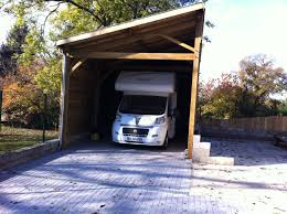 Plan Garage Ossature Bois Toit Plat 16 Prix Carport Bois Brico