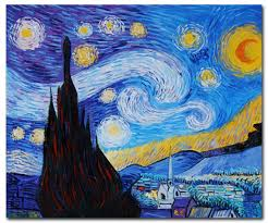 starry night  on famous paintings wall art with big canvas art large canvas paintings large wall art page 2