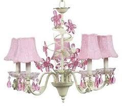 pink chandelier lighting. Image Is Loading Kids-Room-Crystal-Flower-Chandelier-Light-Fixture-Nursery- Pink Chandelier Lighting
