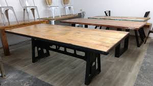 Esstisch Esszimmer Tisch Massiv Holz Mango Industrial Design Dining