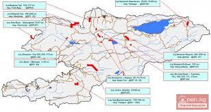 Почва и полезные ископаемые Информационный портал о Кыргызстане  Категория Почва и полезные ископаемые