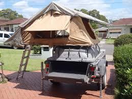 easy rooftop tent trailer