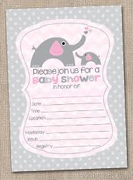 Blank Baby Shower Invitation Ideas In 2019 Printable Baby