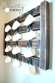 coffee cup rack wall mount wall mounted mug rack wall mounted coffee mug rack coffee mug coffee cup rack wall