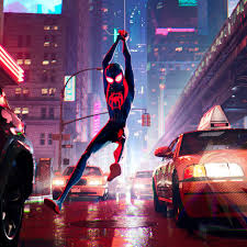 Here is some of my work on spiderman: Spider Man Into The Spider Verse Is Dazzling Hilarious And Unique The Verge