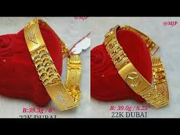gold bracelets designs in 22k dubai gold with weight