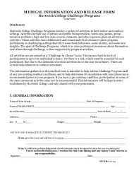 Medical/liability Release Form
