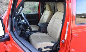 heated leather seats are an option for the wrangler sahara they replace water and stain resistant cloth upholstery