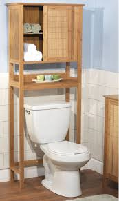 Above The Toilet Storage furniture natural polished teak wood bathroom cabinet over the 8845 by uwakikaiketsu.us