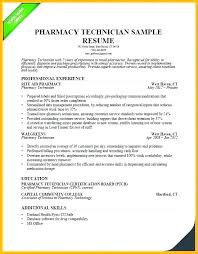 Pharmacy Technician Resume Examples Stunning Sample Pharmacy Tech Resume Free Pharmacy Technician Resume Free