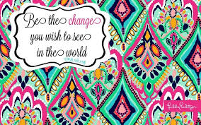 Lilly Pulitzer Quotes Inspiration Lilly Pulitzer Computer Wallpaper Quotes OfficeCubicle