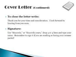 Thank You Resume Letters Resume Cover Letters Shows Off Your Qualifications