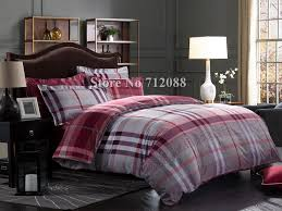 Checked Bed Linen - Cbaarch.com & ... Duvet Covers Red Gray Online Free Shipping Bed Linens Queen King  Comforter 100 Adamdwight.com
