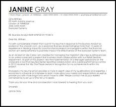 cover letter examples in cover letter for business analyst example of business cover letter